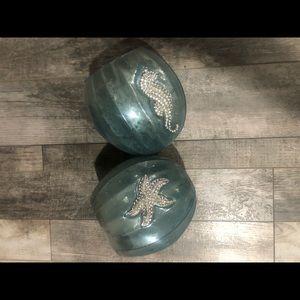 Other - Decorative bathroom bowls set of 2